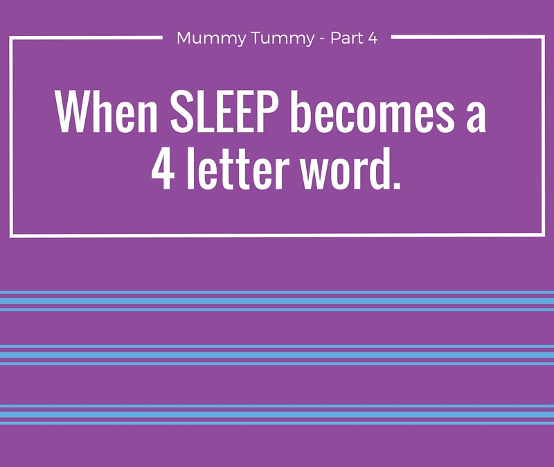 When SLEEP becomes a 4-letter word.