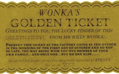 There is no Golden Ticket. A little (Tough) Love Letter.